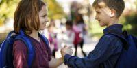 harcèlement dans la cour de récréation