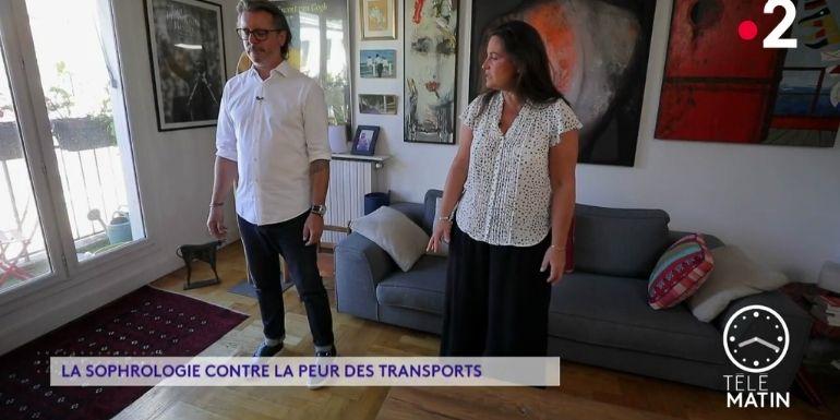 catherine aliotta France 2 sophrologie peur transports