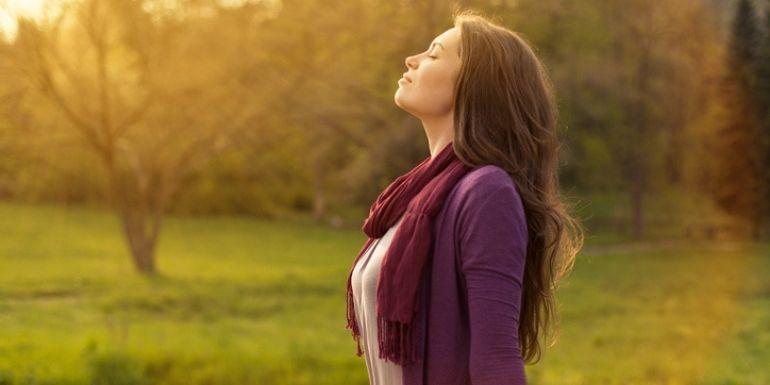se calmer en respirant